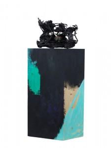 Karl Karner - Skulptur (auf Samtkasten) - Skulptur - 2012