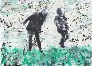Thomas Redl - Clara und Clemens (04) - Malerei - 2011
