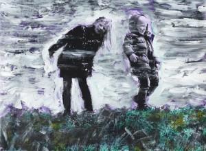 Thomas Redl - Clara und Clemens (01) - Malerei - 2011