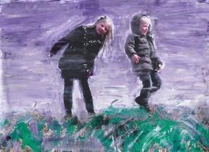 Thomas Redl - Clara und Clemens (02) - Malerei - 2011