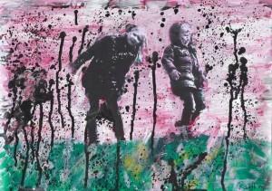 Thomas Redl - Clara und Clemens (03) - Malerei - 2011