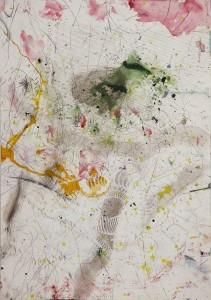 Hubert Scheibl - Smoke - Malerei - 2010