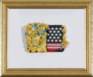 Bernd Schwarzer - Europäisch-Amerikanisches Collagebild - Malerei - 1995