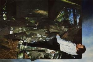 Martin Schnur - Vorspiegelung #5 - 2011 - 200 x 300 cm - Öl auf Leinwand