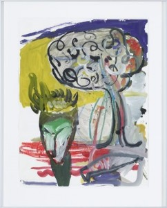 Alois Mosbacher - o.T. - Malerei - 1983