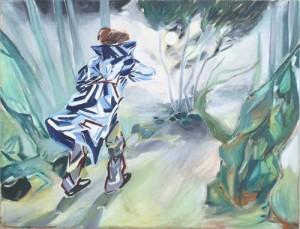 Laura Stadtegger - Spaziergang bei Nacht - Malerei - 2009