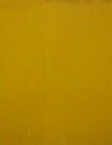 Jakob Gasteiger - Farbtafel gelb - Malerei - 2006