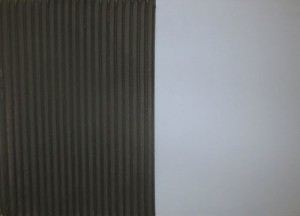 Jakob Gasteiger - Farbtafel schwarz/flieder - Malerei - 2008