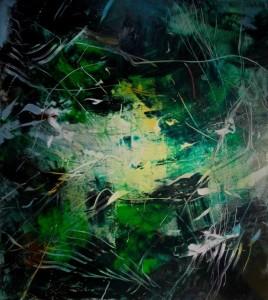 Hubert Scheibl - Plants and Murders - Malerei - 2011
