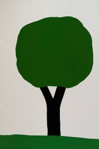 Thomas Stimm - Baum - Malerei - 1995